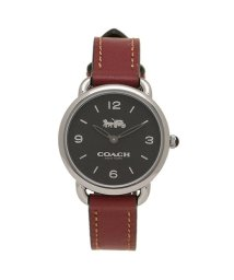 COACH/コーチ 時計 COACH 14502792 W1249 DELANCEY SLIM デランシースリム レディース腕時計ウォッチ チェリーレッドブラウン/シルバー/502868549