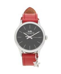 COACH/コーチ 時計 アウトレット COACH W1549 RD/BK レディース腕時計ウォッチ レッド/ブラック/シルバー/502868554