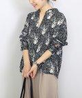 FUNNY COMPANY+/花柄デシンスキッパーシャツ/502870932