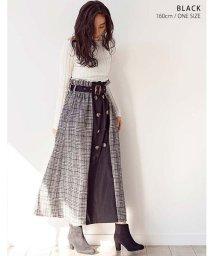 GROWINGRICH/[ボトムス スカート] ツイル×トレンチ切替スカート [191043]/502871699