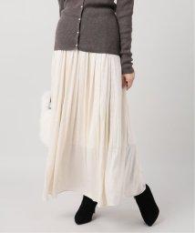 La TOTALITE/ヴィンテージサテンギャザースカート◆/502871920