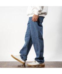 1111clothing/【 13oz デニム ワイドパンツ 】 デニムワイドパンツ ワイドパンツ メンズ バギーパンツ トレンド 流行 韓国 ファッション 韓国ファッション ズボン 服/502822254