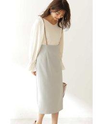 PROPORTION BODY DRESSING/◆サスペンダータイトスカート/502861616