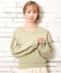 INGNI/ワンショルニット/アンサンブル          /502869545