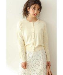PROPORTION BODY DRESSING/◆ビジュー釦カーディガン/502870506