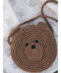 merry jenny/Knit Bear Pochette/502872396
