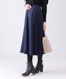 BLUEEAST/アシンメトリープリーツスカート/502872956