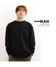1111clothing/トップス 長袖 tシャツ ビッグtシャツ メンズ レディース 韓国 ファッション 韓国ファッション ペアルック カップル お揃い 服 カットソー 白 グレー ネ/502874122