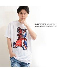 1111clothing/ビッグtシャツ tシャツ 半袖 メンズ レディース 韓国 ファッション ペアルック カップル プリント クマ 夏 オーバーサイズ tシャツ お揃い  ストリート/502874139