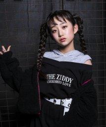 ZIDDY/【ニコプチ掲載】肩開きトレーナーワンピース/502682461