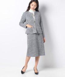 Leilian/【特別提供品】ツイード風スーツ/502815366