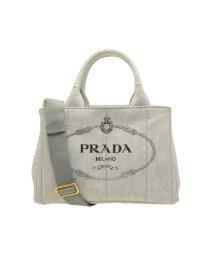 PRADA/プラダ PRADA バッグ トートバッグ 2way 1bg439 カナパ CANAPA MINI キャンバス ブランド  ホワイトデニム/502860455