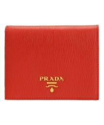 PRADA/プラダ PRADA 財布 折財布 二つ折り ミニ コンパクト レザー 1MV204 /502860465