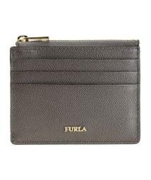FURLA/フルラ FURLA コインケース カードケース 小銭入れ レザー バビロン BABYLON S CREDIT CASE レザー アウトレット アスファルトグレー/502860533
