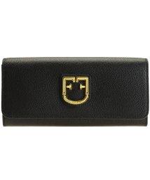 FURLA/フルラ FURLA 財布 長財布 二つ折り ベルヴェデーレ BELVEDERE XL BI-FOLD レザー ブラック /502860544
