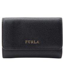 FURLA/フルラ FURLA 財布 折財布 三つ折り ミニ バビロン BABYLON S TRIFOLD レザー  ブラック/502860571