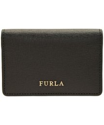 FURLA/フルラ BABYLON S BUSINESS CARD CASE バビロン S ビジネス カードケース 名刺入れ レディース PS04 B30 ONYX /502860582