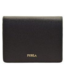 FURLA/フルラ FURLA 財布 折財布 二つ折り ミニ コンパクト バビロン BABYLON S BI-FOLD レザー ブラック /502860598