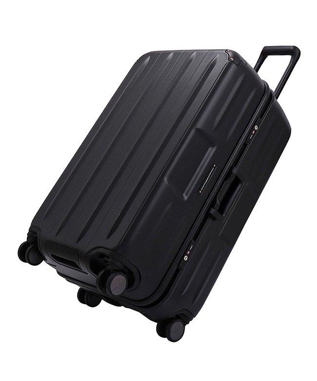 カバンのセレクション サンコー スーパーライト コンテナ スーツケース Lサイズ 100L フレーム 縦長 超軽量 MGCB−71 ユニセックス ブラック フリー 【Bag & Luggage SELECTION】