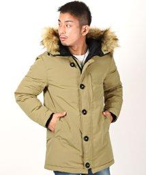 LUXSTYLE/タスランファー付きコート/中綿ジャケット メンズ コート タスラン ジャケット BITTER ビター系/502875060