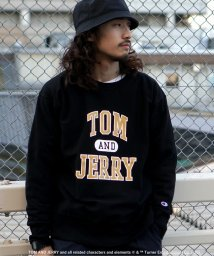 BEAMS MEN/Champion × BEAMS / 別注 TOM AND JERRY ロングスリーブ カットソー/502877962