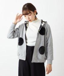 FURIFU/【雪椿】うさぎのしっぽジップパーカー/502867479