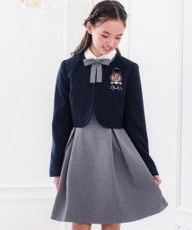 Catherine Cottage/卒服 上品白襟ワンピース&ノーカラーボレロ/502869500