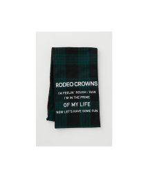 RODEO CROWNS WIDE BOWL/チェックメッセージマフラー/502878252