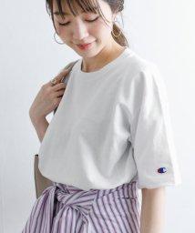 URBAN RESEARCH Sonny Label/Champion 別注リバースウィーブロゴ刺繍Tシャツ/502880059