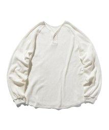 BEAMS MEN/VAPORIZE / Henry Neck Reversible T-Shirt/502881219