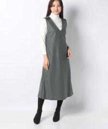 Leilian PLUS HOUSE/【特別提供品】ロング丈ジャンパースカート/502827646