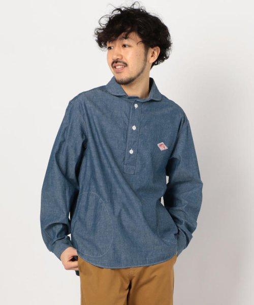 GLOSTER(GLOSTER)/【DANTON/ダントン】丸えりオックスシャツ#JD-3568 YOX/COC/0-0619-1-51-001