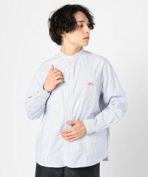 GLOSTER/【DANTON/ダントン】バンドカラーシャツ #JD-3607 TRD/502870212