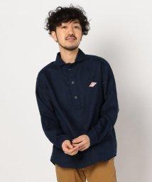 GLOSTER/【DANTON/ダントン】丸えりリネンシャツ #JD-3568 KLS/502870219