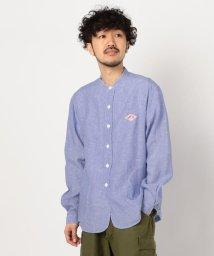 GLOSTER/【DANTON/ダントン】リネンバンドカラーシャツ #JD-3607 KLS/502870220