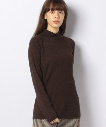 MARcourt/【mizuiro ind】shirt collar rib knitプルオーバー*/502875037