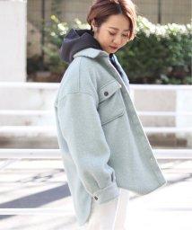 JOINT WORKS/シャギーCPO型 シャツジャケット◆/502883166