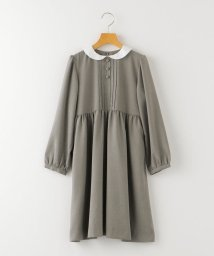 SHIPS KIDS/SHIPS KIDS:ピンタック ツイル ワンピース(140~150cm)【OCCASION COLLECTION】/502883422