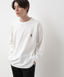 JUNRed/BEAR刺繍オージーロンT/502883448