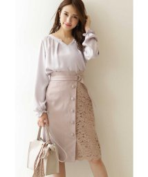PROPORTION BODY DRESSING/◆アシメレースタイトスカート/502884227
