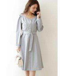 PROPORTION BODY DRESSING/◆フロントボタンパフスリーブワンピース/502884230