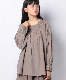 Samansa Mos2/【SM2】刺繍ブラウス/502873276