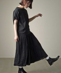 marle/【marle】サテンワッシャープリーツスカート/502881697