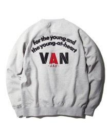 VANJACKET/バックロゴトレーナー/502882155