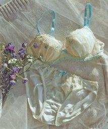 AMPHI/【ブラ&ショーツ セット】花柄モチーフ×エンブロイダリーレース(B~D)/502883194