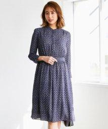 NIJYUSANKU/【洗える】ツイーディープリント ドレス/502885707