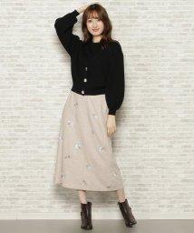 WILLSELECTION/フリンジ刺繍スカート/502886635