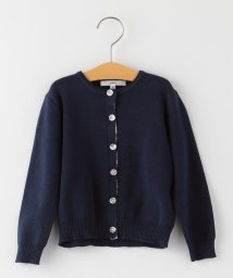 SHIPS KIDS/SHIPS KIDS:無地×リバティ カーディガン(100~130cm)【OCCASION COLLECTION】/502887284