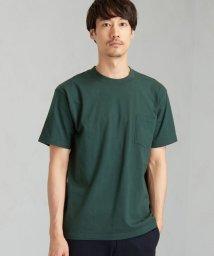 green label relaxing/別注 [ヘインズ] Hanes SC BEEFY GLR ポケットTシャツ / ポケT/502888000