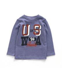 F.O.KIDS/4色2柄カレッジロゴ長袖Tシャツ/502793648